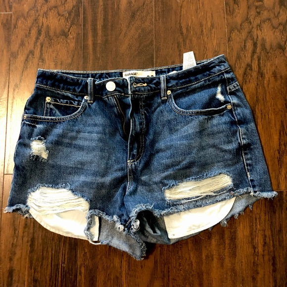 brand new without tags high waisted denim shorts